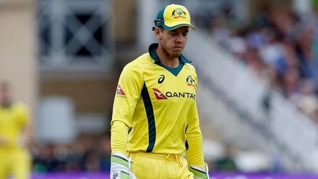Tim Paine said Australia's dramatic defeat to England in Manchester 'stung' after they looked set for a consolation win.(Action Images via Reuters)