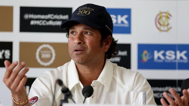 Sachin Tendulkar had played with the pace bowlers like Javagal Srinath, Kapil Dev and Zaheer Khan(Steven Paston/REUTERS)