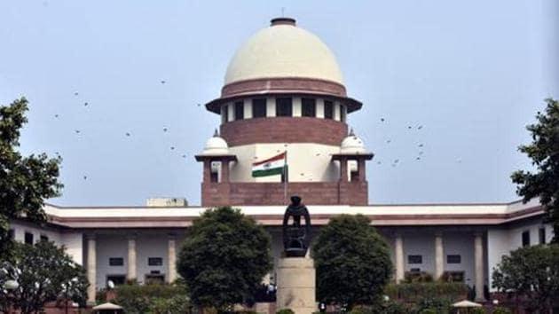 A view of Supreme Court building in New Delhi, India.(SHT File photo)