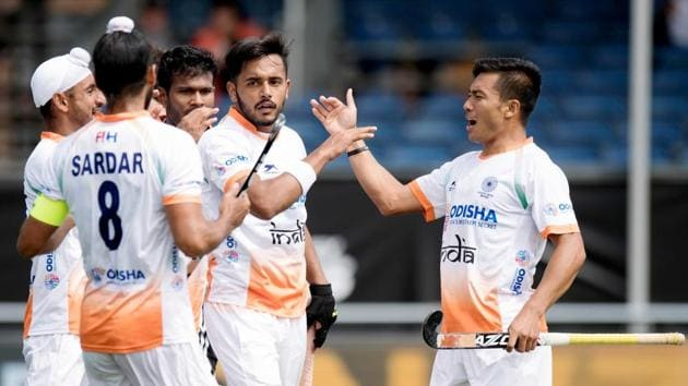 India will look for their third straight win when they take on Australia in the Champions Trophy hockey on Wednesday.(Frank Uijlenbroek)