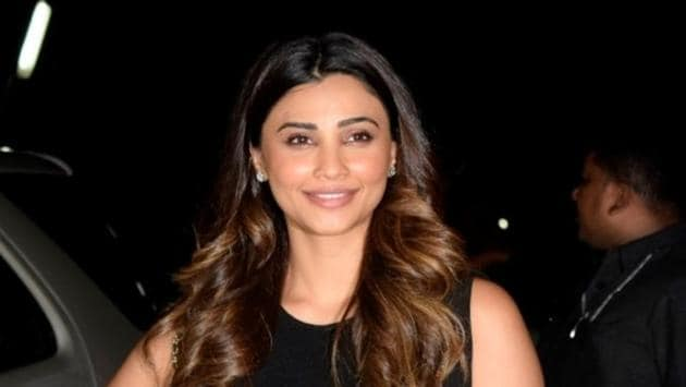 Daisy Shah at the special screening of her film Race 3 in Mumbai on June 14, 2018.(IANS)
