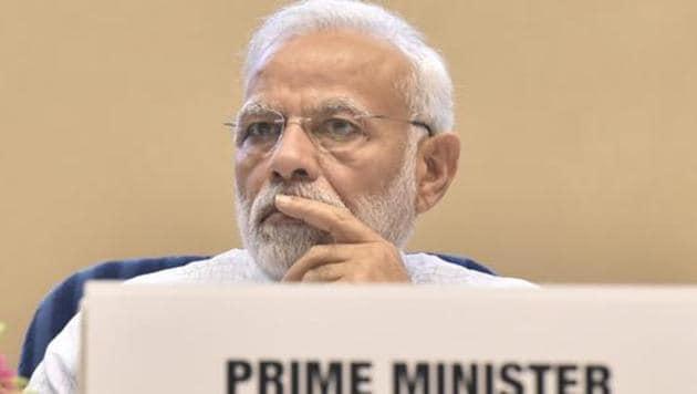 Prime minister of India Narendra Modi.(Sonu Mehta/HT PHOTO)