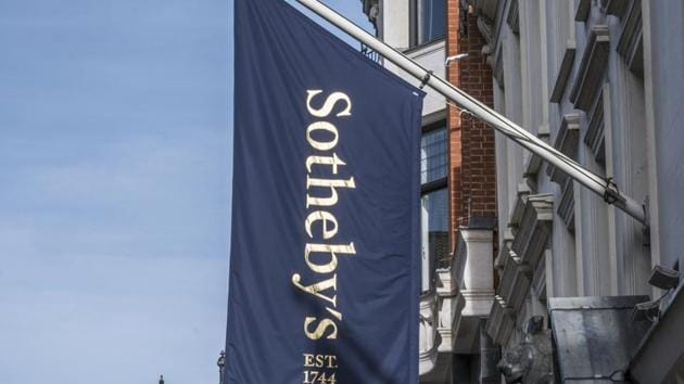 The auction took place at Sotheby's in London on Tuesday.(Shutterstock)