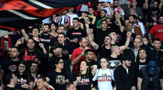 AC Milan have been banned from next season's Europa League competition by UEFA.(AFP)