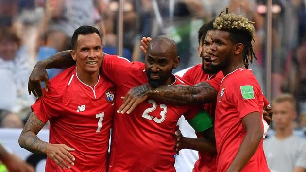 Panama (in pic) will face Tunisia in their final group game of FIFA World Cup 2018 in Saransk on Thursday.(AFP)