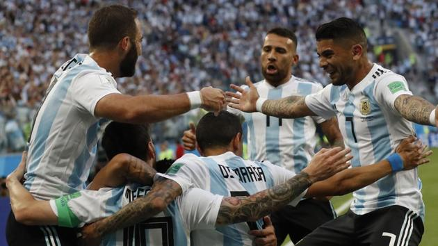 Argentina beat Nigeria in the FIFA World Cup 2018 on Tuesday. Follow full score of Nigeria vs Argentina, FIFA World Cup 2018 here.(AP)