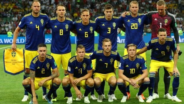 Sweden football team beat Mexico, both entered Rd of 16. Get highlights of Mexico vs Sweden FIFA World Cup 2018 Group F match here.(Reuters)