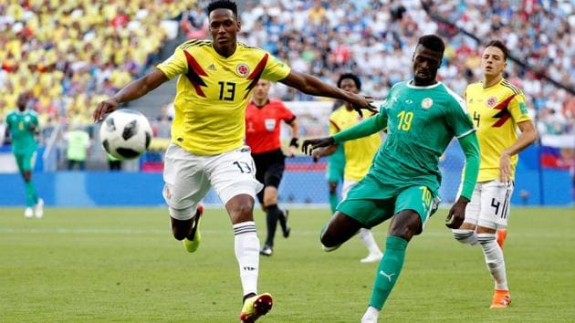Colombia defeated Senegal 1-0 in a Group H match of the FIFA World Cup 2018 at the Samara Arena. Follow highlights of Senegal vs Colombia, FIFA World Cup 2018 Group H match, here.(Reuters)