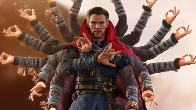Benedict Cumberbatch plays Doctor Strange in the Marvel Cinematic Universe.