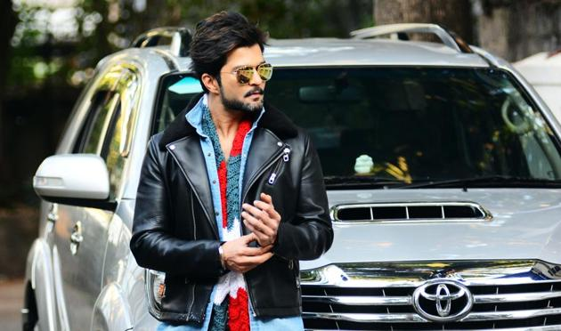 Actor Raqesh Bapat will be seen in John Abraham's maiden Marathi venture Savita Damodar Paranjpe(Shankar Narayan/HTPHOTO)