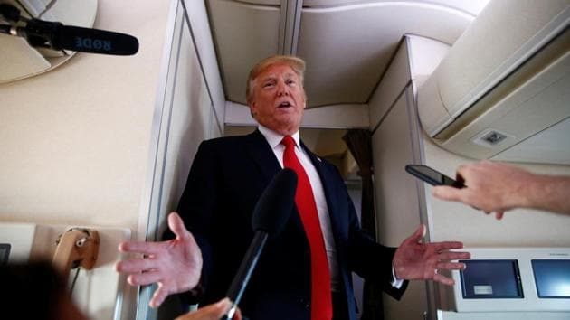 President Donald Trump has said he will start interviewing the shortlisted nominees, and plans to invite two of them to Bedminster.(Reuters photo)