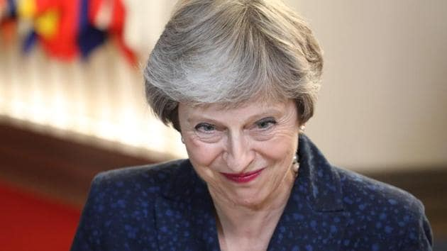 India is among the key countries Britain's Theresa May (pictured) government is keen to enhance trade with and enter into a free trade agreement, in orderto compensate for economic losses that will follow its exit from the European Single Market.(AFP)