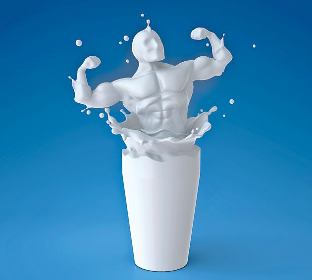 Milk lacks many vitamins and minerals, so it's not nutritionally complete(istock)