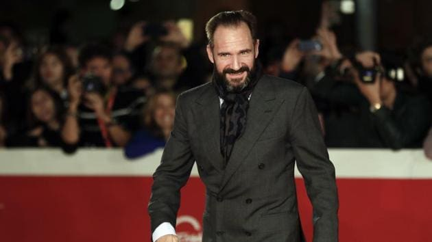 Actor Ralph Fiennes poses for photographers. (AP Photo/Andrew Medichini)(AP)