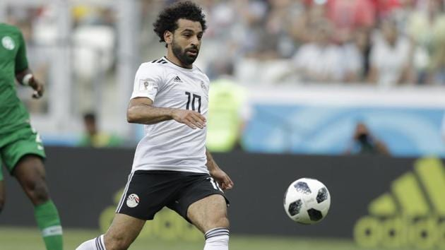 English Premier League top scorer Mohamed Salah has signed a new five-year contract with Liverpool.(AP)