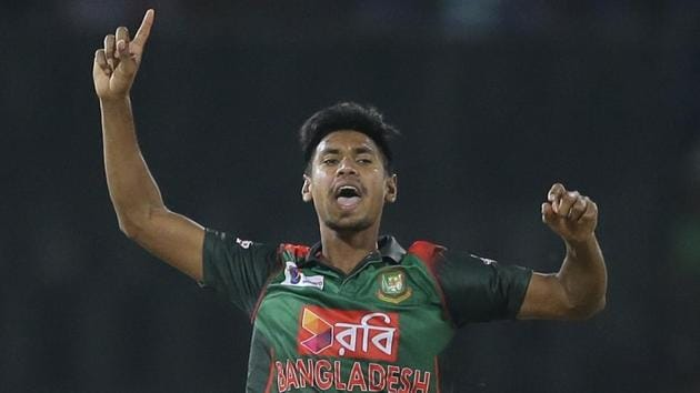 Mustafizur Rahman was included in the Bangladesh squad for the ODI series against West Indies.(AP)