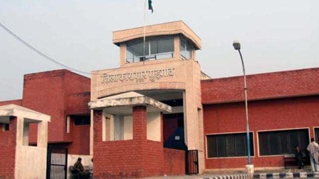 File photo of Bhondsi jail .(HT File)
