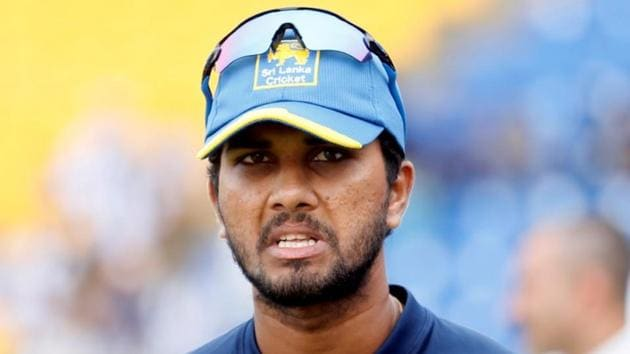 Sri Lanka's Dinesh Chandimal has been named in squad for the two Tests against South Africa.(Reuters)