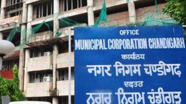 The corporation is targeting to achieve tax collection of Rs 50 crore this year.(HT File)
