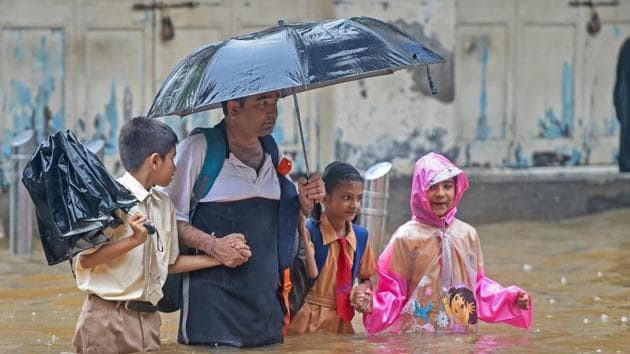 The monsoon season is a dangerous and unsettling time in India, with most deaths reported from heavy rains and flooding in the four months from June to September.(PTI File Photo)