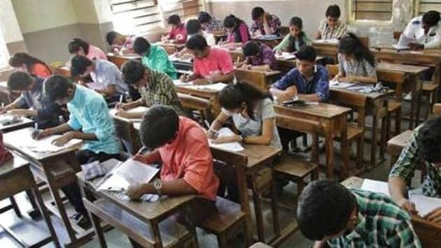 JEE Main, the screening test for Indian Institutes of Technology, will be conducted twice a year--in January and April.(File photo)