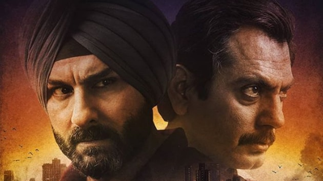 Saif Ali Khan and Nawazuddin Siddiqui fight for the soul of Mumbai in Netflix's Sacred Games.