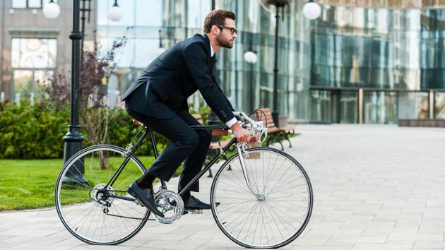 Cyclists have been found to have the lowest BMI.(Shutterstock)