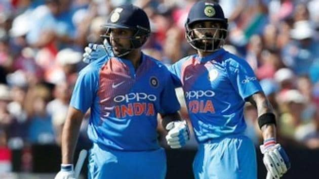 Rohit Sharma scored a brilliant century as India clinched the three-match T20 series against England.(REUTERS)