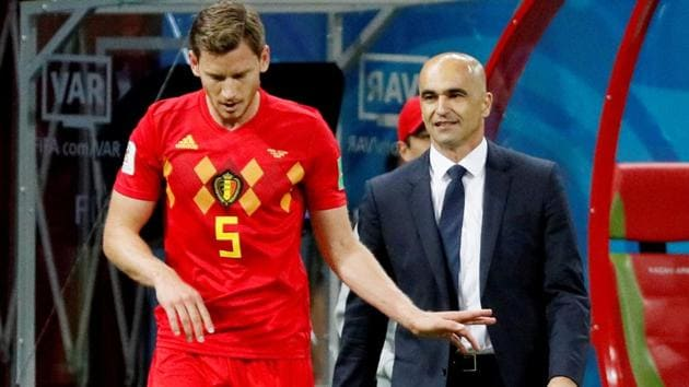 Roberto Martinez's strategies have played a big role in taking Belgium to the FIFA World Cup 2018 semi-finals.(REUTERS)