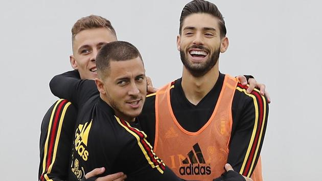 Belgium take on France in the first semi-final of FIFA World Cup 2018 in St Petersburg on Tuesday.(AP)