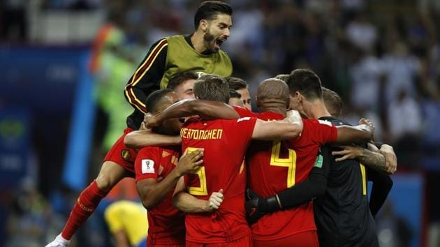 Belgium will take on France in the first semi-final of FIFA World Cup 2018 in St Petersburg on Tuesday.(AP)