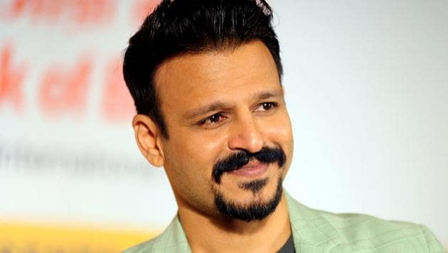 Vivek Oberoi at a press conference in Mumbai.(AFP)