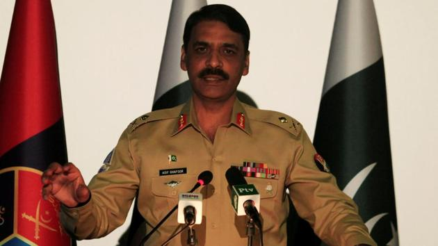 Maj. Gen. Asif Ghafoor said the Pakistan army was not loyal to any political party.(Reuters File Photo)