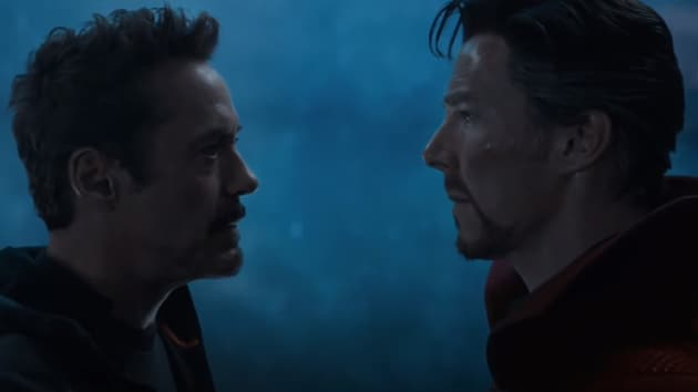 The two Sherlocks unite: Robert Downey Jr and Benedict Cumberbatch have a face-off.