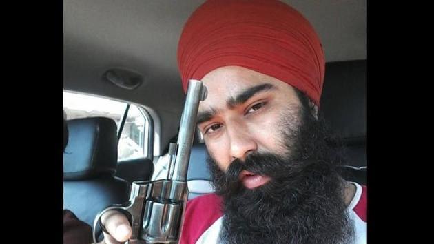 Gangster Dilpreet Singh Baba(HT File)