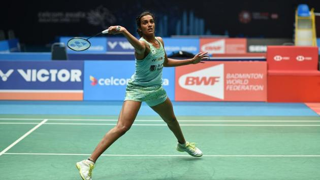 PV Sindhu has entered the women's singles Round of 16 at the Thailand Open badminton tournament in Bangkok on Wednesday.(AFP)