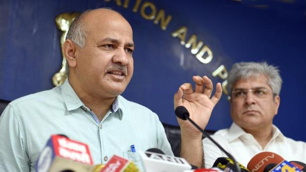"""Classes covering """"happiness curriculum"""", introduced by the Delhi govt for the students of nursery up to the 8th in its schools, will begin from next week, Deputy CM Manish Sisodia said on Thursday.(Sonu Mehta/HT file)"""