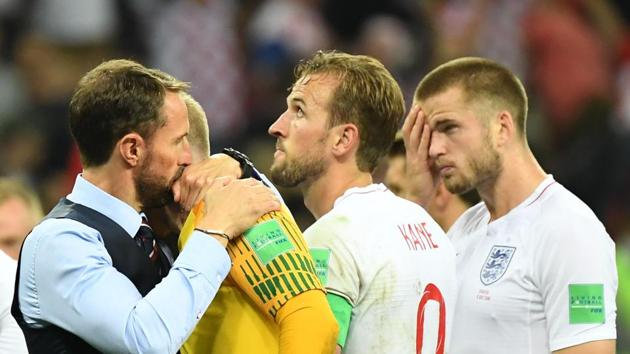 England football players said that the FIFA World Cup 2018 helped rebuild a few burnt bridges between the national team and its fans.(AFP)