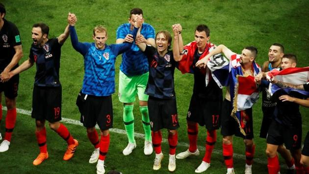 Croatia beat England 2-1 in extra time to enter the FIFA World Cup 2018 final.(REUTERS)