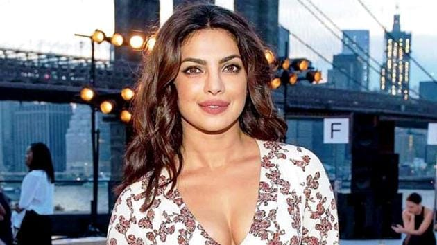 Priyanka Chopra's unisex tee is straight from the Versace's spring/summer 2018 tribute collection. See it below. (File AP Photo)