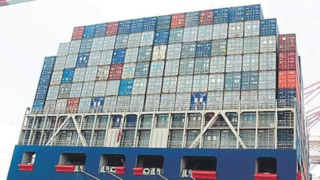 During April-June this fiscal, exports rose by 14.21% to $82.47 billion.(File Photo)
