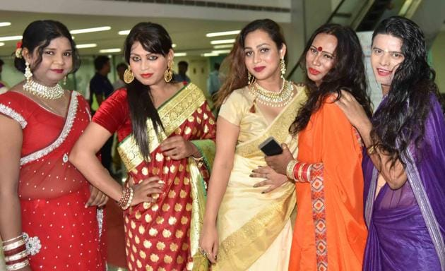 There are around 75,000 transgenders in Rajasthan, according to an estimation by Nayi Bhor, an organisation that works for people of the third gender.(HT File Photo)