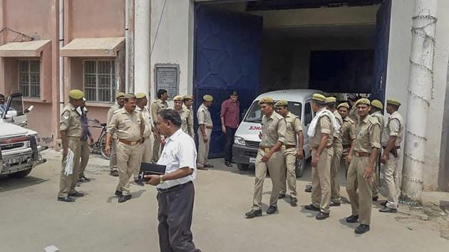 Authorities considered shifting Sunil Rathi to Lucknow district jail but the plan was changed as a few members of Rathi's gang as well as Bajrangi's gang are lodged in Lucknow jail, an official said.(PTI)