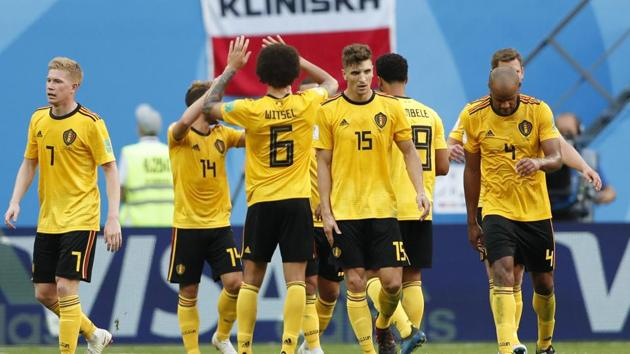 Thomas Meunier and Eden Hazrad for Belgium to give them a comfortable 2-0 win over England . Get highlights of the FIFA World Cup 2018 match between Belgium and England here.(AP)