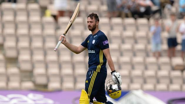 James Vince has represented England in 13 Tests, five ODIs and seven T20Is.(Twitter)