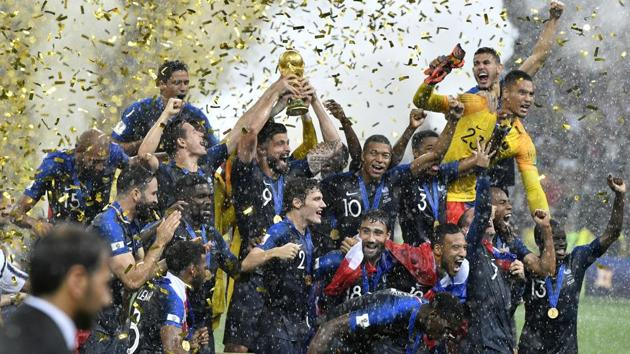 France beat Croatia in the FIFA World Cup 2018 final at the Luzhniki Stadium in Moscow. Follow highlights from the World Cup final 2018 and closing ceremony here.(AP)
