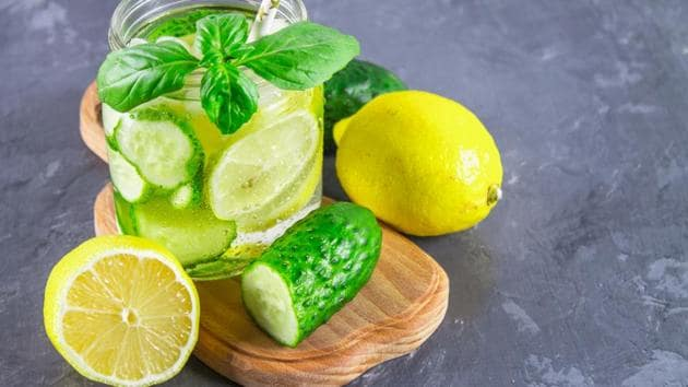 When combined with an effective exercise regimen, the lemon and ginger detox drink can work wonders.(Shutterstock)