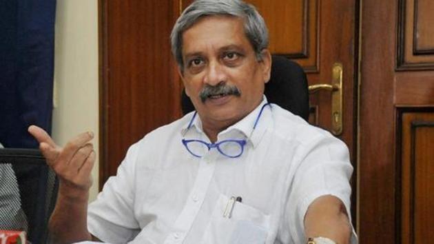 Goa chief minister Manohar Parrikar.(PTI File Photo)