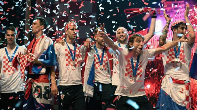 More than 250,000 welcome Croatia home after FIFA World Cup 2018 final