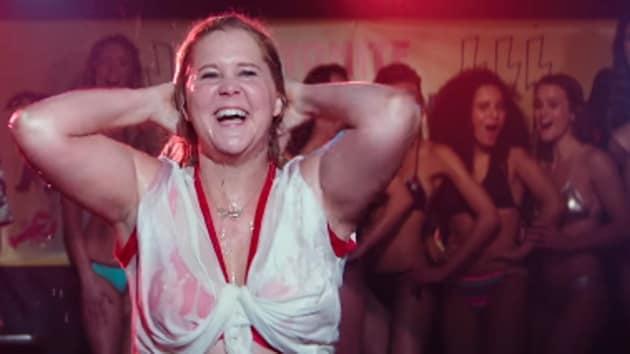 Amy Schumer takes part in a bikini contest in I Feel Pretty.